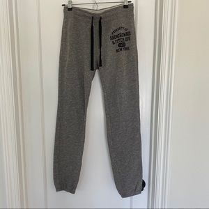 Abercrombie & Fitch Heather Jogger Sweatpants